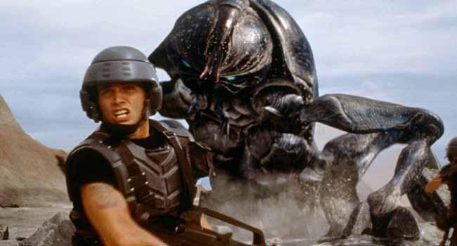 Звездный десант - Страшные фильмы про насекомых