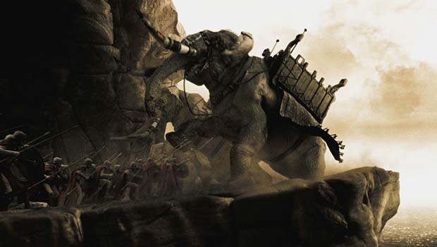 300 спартанцев - Фильмы о военных поражениях