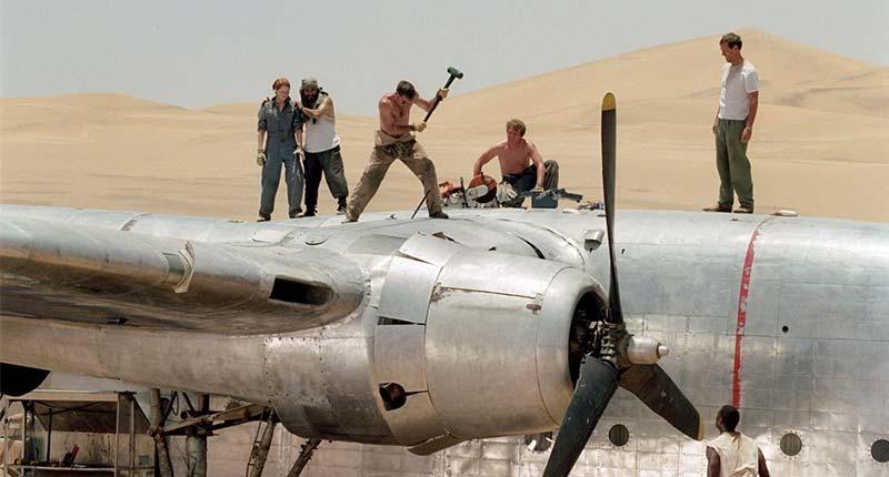 Полет Феникса - Серьезные фильмы про авиацию и самолёты
